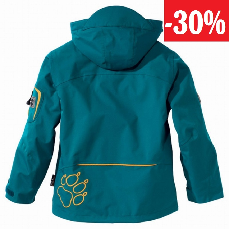 Jack Wolfskin dětská bunda KIDS ELEMENTS JACKET
