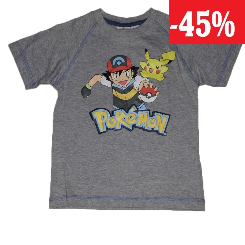 344be37d1 Pokémon Chlapecké triko s krátkým rukávem | WOKAS | Svět dětí a sportu