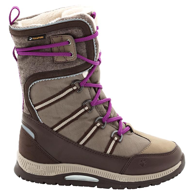 d788f311dab Jack Wolfskin dívčí zimní obuv GIRLS WINTER DAY TEXAPORE