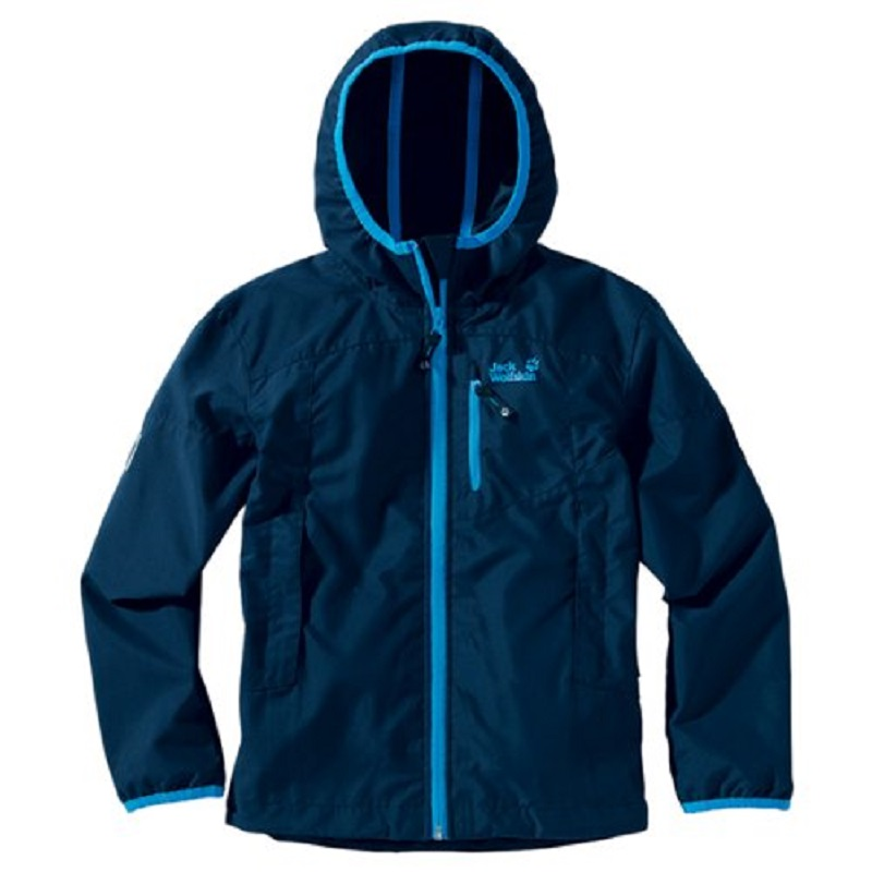 Jack Wolfskin chlapecká větrovka BOYS WINDY POINT JACKET
