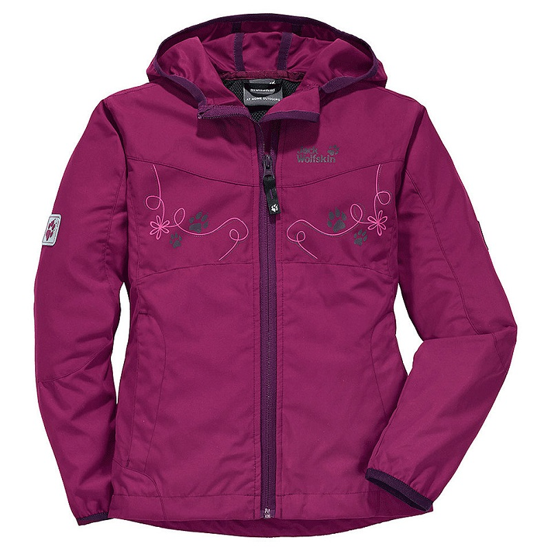 Jack Wolfskin dívčí lehká větrovka GIRLS WINDY POINT JACKET