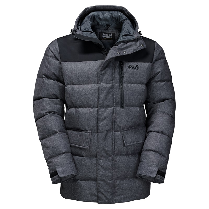 Jack Wolfskin pánská péřová bunda BAFFIN BAY JACKET MEN