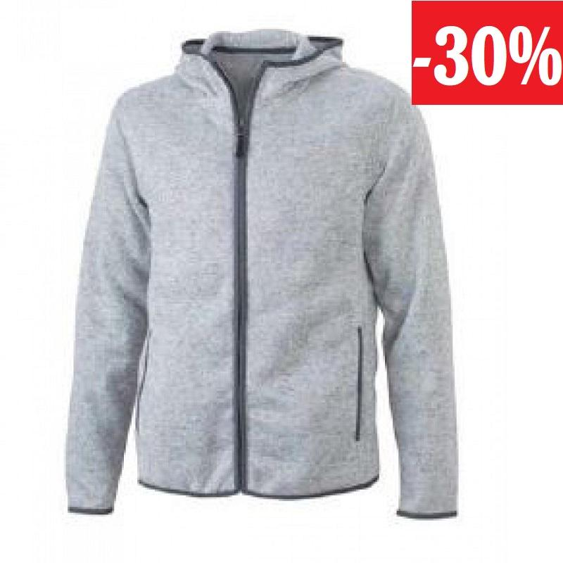 GTS pánská mikina Knitted fleece jacket men
