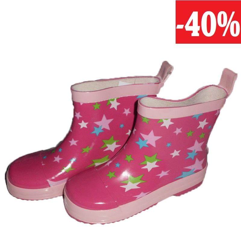 86c1635710f Playshoes nízké dívčí holínky - hvězdičky