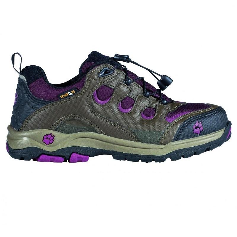 4f4af095694 Jack Wolfskin dětské outdoorové boty KIDS AMBITION TEXAPORE empty